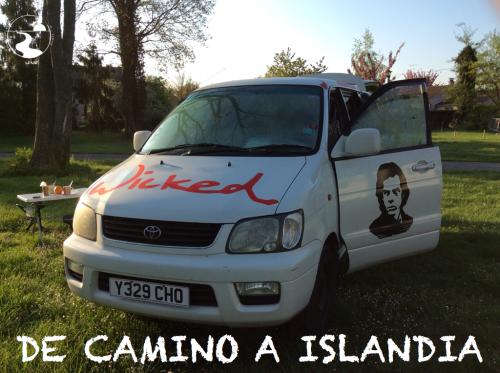 De camino a Islandia