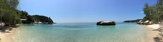 Panoramica de Freedom Beach