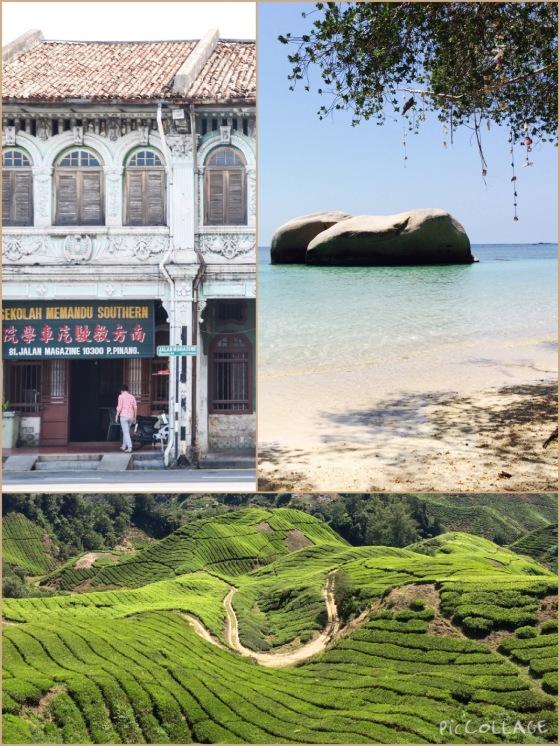 Tailandia y Malasia