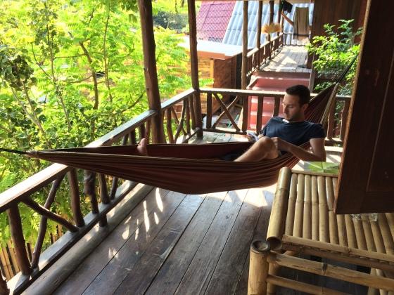 Relax en Haad Salad, Koh Phangan