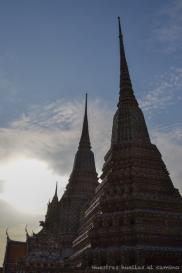 Atardecer en Wat Pho