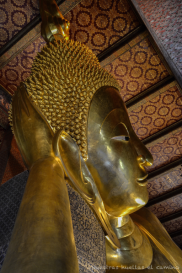 Buddha tumbado, Wat Pho, Bangkok