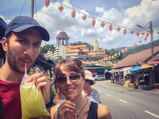Sugar cane Juice, Kek Lok Si